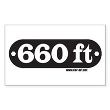 660 ft. Rectangle Decal