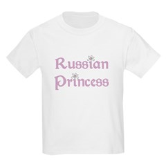 Russian Princess Kids T-Shirt