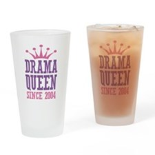 Drama Queen Since 2004 Drinking Glass