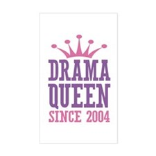 Drama Queen Since 2004 Decal