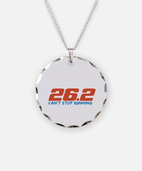 26.2 Can't Stop Running Necklace