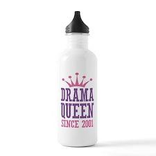 Drama Queen Since 2001 Water Bottle