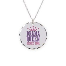 Drama Queen Since 2001 Necklace