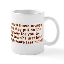 Orange Cones Knock Down Mug