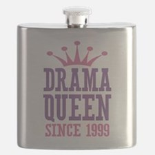 Drama Queen Since 1999 Flask