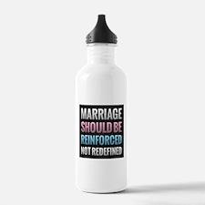 Marriage Should Be Reinforced Water Bottle