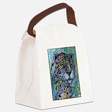 Jaguar, wildlife art Canvas Lunch Bag
