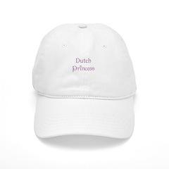 Dutch Princess Baseball Cap
