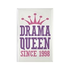 Drama Queen Since 1998 Rectangle Magnet (10 pack)