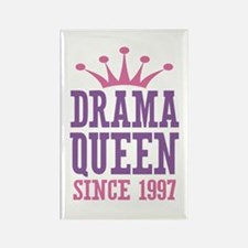 Drama Queen Since 1997 Rectangle Magnet