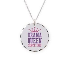Drama Queen Since 1997 Necklace