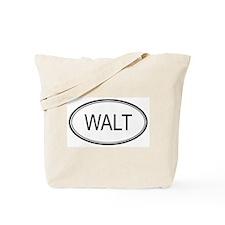 Walt Oval Design Tote Bag