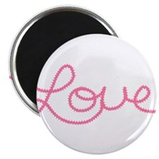 """Love in Pink 2.25"""" Magnet (10 pack)"""