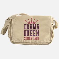 Drama Queen Since 1992 Messenger Bag