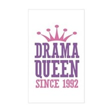 Drama Queen Since 1992 Decal