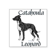 Catahoula Rectangle Sticker
