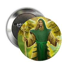 "Archangel Raphael 2.25"" Button"