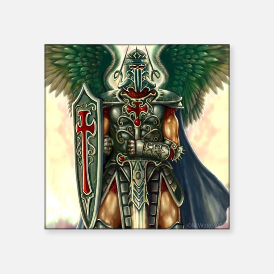 "Archangel Uriel Square Sticker 3"" x 3"""