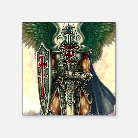"""Archangel Uriel Square Sticker 3"""" x 3"""""""