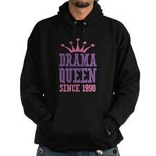 Drama Queen Since 1990 Hoodie