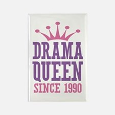 Drama Queen Since 1990 Rectangle Magnet