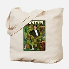 Carter the Mysterious Magician Tote Bag