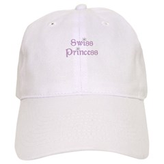 Swiss Princess Baseball Cap