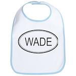 Wade Oval Design Bib