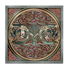 Celtic Gryphons Tile Coaster