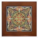 Celtic eagle Framed Tiles