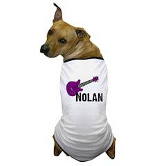 Nolan - Guitar - Purple Dog T-Shirt