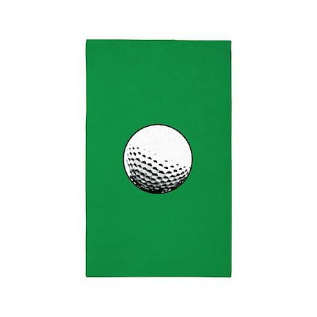 Golf ball 3'x5' Area Rug