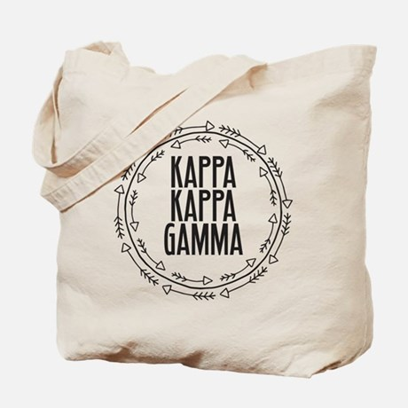 Kappa Kappa Gamma Arrows Tote Bag