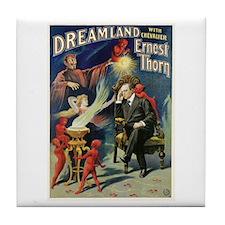 Devil's Dreamland Magic Tile Coaster