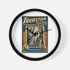 Thurston Great Magician Wall Clock