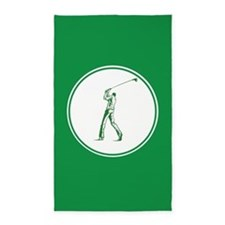 Green Golf 3'x5' Area Rug