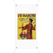 Fu Manchu Chinese Magic Banner