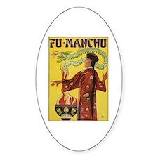 Fu Manchu Chinese Magic Decal
