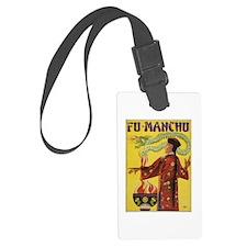 Fu Manchu Chinese Magic Luggage Tag