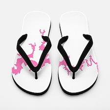 dragon only_pink3.png Flip Flops