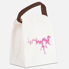 dragon only_pink3.png Canvas Lunch Bag