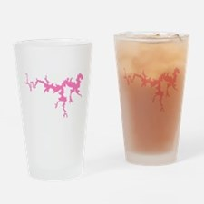 dragon only_pink3.png Drinking Glass