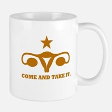 Come and Take It Uterus Mug