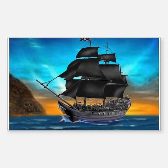 PIRATE SHIP Decal