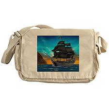 PIRATE SHIP Messenger Bag