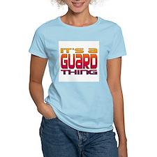 It's a Guard Thing Women's Pink T-Shirt