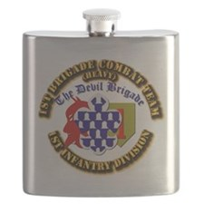 Army - 1st Infantry Div - 1st BCT Flask