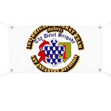 Army - 1st Infantry Div - 1st BCT Banner