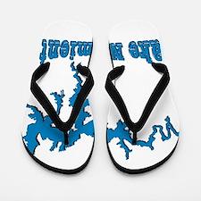 NACI DRAGON_BLUE2 SAMPLE Flip Flops