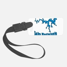 NACI DRAGON_BLUE2 SAMPLE Luggage Tag